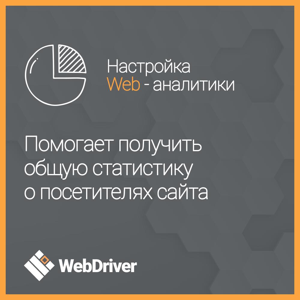 Настройка Web-аналитики